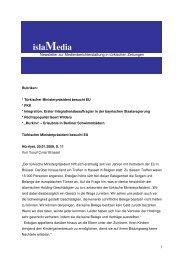 islaMedia - Lehrstuhl für Bürgerliches Recht, IPR und ...