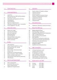Jahresprogramm der VHS Cloppenburg 2012/2013