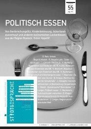 POLITISCH ESSEN - Stadtgespräche Rostock