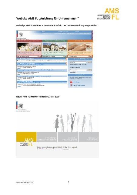 Website AMS FL .;trainerinstruktion.