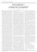 Seid realistisch – verlangt das Unmögliche - Streifzüge - Seite 5