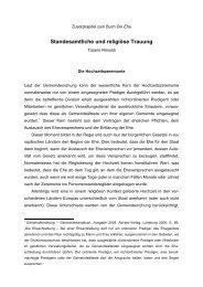 Standesamtliche und religiöse Trauung - Advent-Verlag Lüneburg