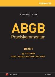 Praxiskommentar ABGB - LexisNexis ARD Orac