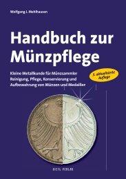 Handbuch Mu?nzpflege: Handbuch Münzpflege - Gietl Verlag