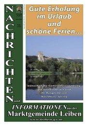 Gemeindezeitung Sommer 2012 (1,56 MB) - .PDF - Marktgemeinde ...