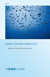 Chance für den Klimaschutz ( PDF   0.9 MB ) - RWE.com