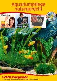 Aquariumpflege naturgerecht - sera GmbH