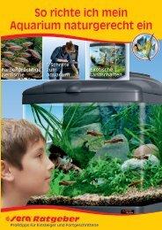 So richte ich mein Aquarium naturgerecht ein - sera GmbH