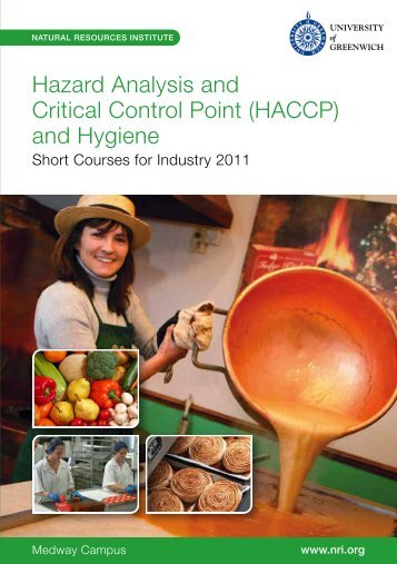 Hazard Analysis and Critical Control Point (HACCP) - Natural ...
