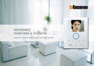 Broschüre Türsprechanlagenpdf, 1.3 MB - Legrand Austria GmbH