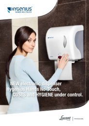 Hygenius Hands No-Touch - Lucart Professional