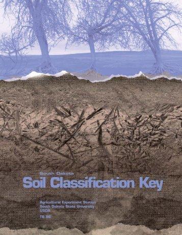 South Dakota Soil Classification Key - South Dakota State University
