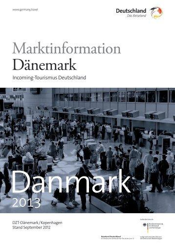 Marktinformation Dänemark - Germany – travel