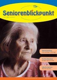 Senioren informieren sich - Kreisseniorenrat