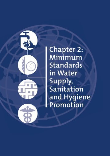 Chapter 2: Minimum Standards in Water Supply, Sanitation and ...
