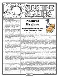 Vol. 11 No. 12 - Natural Hygiene - Holistic Apothecary