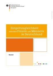 Entgeltungleichheit zwischen Frauen und Männern in Deutschland