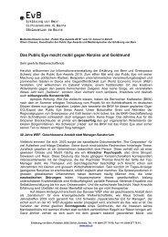 Referat Classen_d - Erklärung von Bern