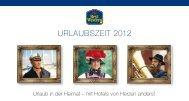 URLAUBSZEIT 2012 - Best Western Hotels Deutschland