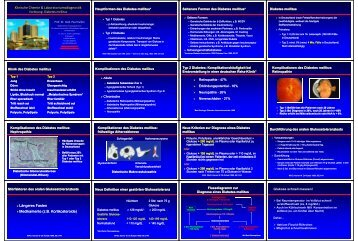 (z B Kortikosteroide) Medikamente (zB - Lehre