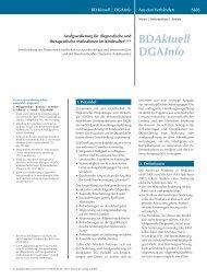 Analgosedierung für diagnostische und therapeutische ... - DGAI