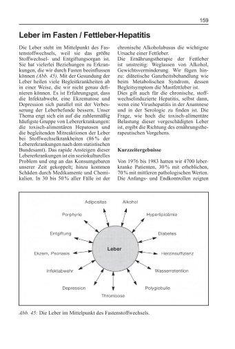 Leber im Fasten / Fettleber-Hepatitis