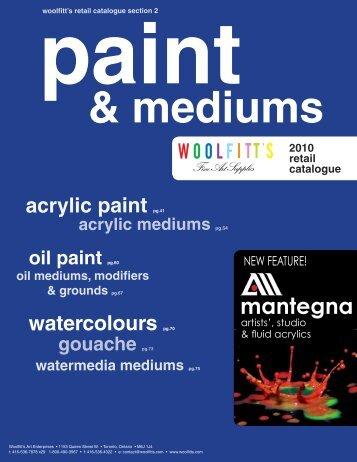 acrylic paint - Woolfitt's