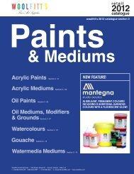 oil paint - Woolfitt's