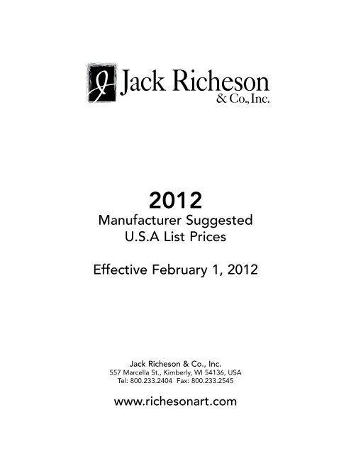 Jack Richeson Bamboo Brush Mat Holder//Organizer