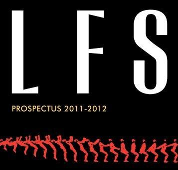 PROSPECTUS 2011-2012 - London Film School