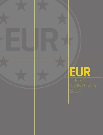 the EUR 20th anniversary booklet - European Utility Requirements