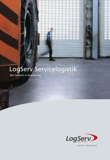 Folder Servicelogistik [564 KByte/pdf]