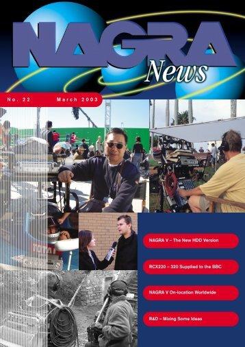 No. 22 March 2003 - Nagra