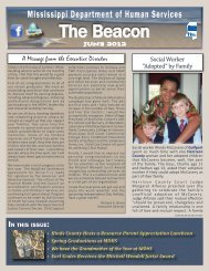 The Beacon - Mississippi Department of Human Services