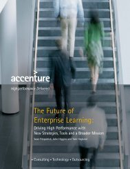 The Future of Enterprise Learning: