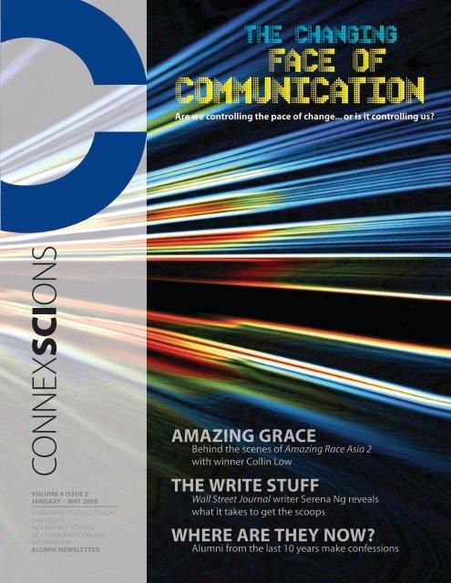CONNExSCIONS - WKWSCI Home - Nanyang Technological ...