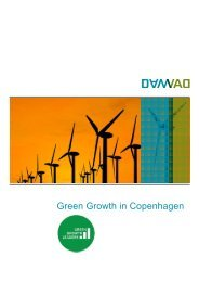 Green Growth in Copenhagen - Copenhagen Cleantech Cluster