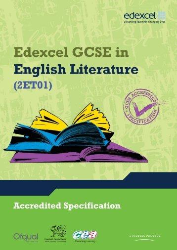 Edexcel GCSE 2010