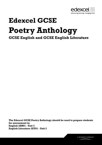 gcse literature poem essays Essay writing guide gcse: poetry browse by the shock tactics used by kipling and wallace in these two poems help convey the effect war has on people and.