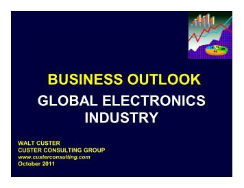 BUSINESS OUTLOOK - TTI Inc.
