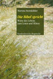 Zuerst - Vandenhoeck & Ruprecht