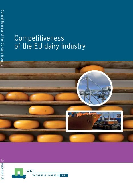Competitiveness of the EU dairy industry