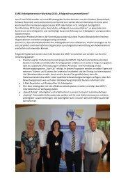 EURES Arbeitgeberservice-Workshop 2010: .;erfolgreich ...