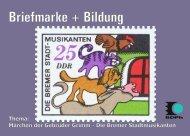 Bremer Stadtmusikanten A5_3 - Bund deutscher Philatelisten eV