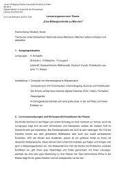 """Lernarrangement zum Thema: """"Eine Bildergeschichte zu Märchen ..."""