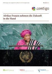 Afrikas Frauen nehmen die Zukunft in die Hand - Brot für alle