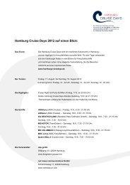 Briefvorlage Cruise Days - Hamburg Cruise Days