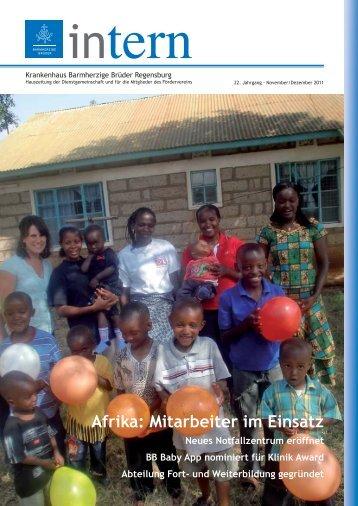 Afrika: Mitarbeiter im Einsatz - Krankenhaus Barmherzige Brüder ...