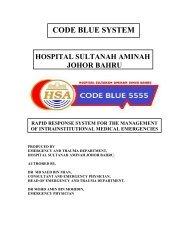 Code blue - Hospital Sultanah Aminah