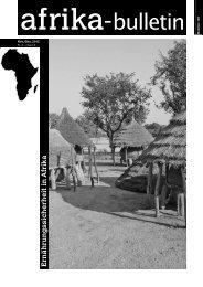 Afrika in Kürze - Universität Basel